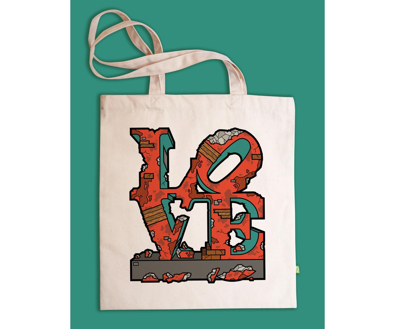 Tote Bag - NO LOVE