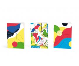 Trio de petits carnets - Papier merveille x Sophie Della Corte