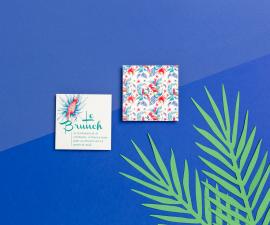 Carton brunch/dîner - Tropicool