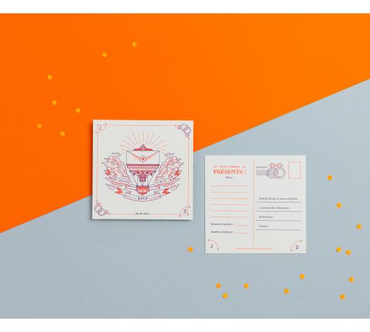 Carte RSVP - La Grande Aventure